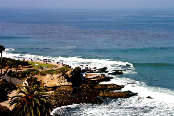 Beautiful photo Taken by Patrick Belhon of La Jolla Cove in February 2014
