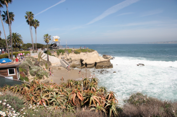 Parks and beach in La Jolla